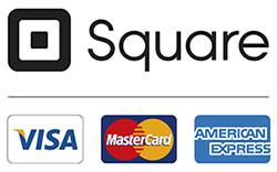 we take square major credit cards
